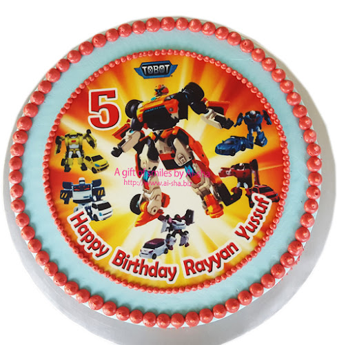 Birthday Cake TOBOT