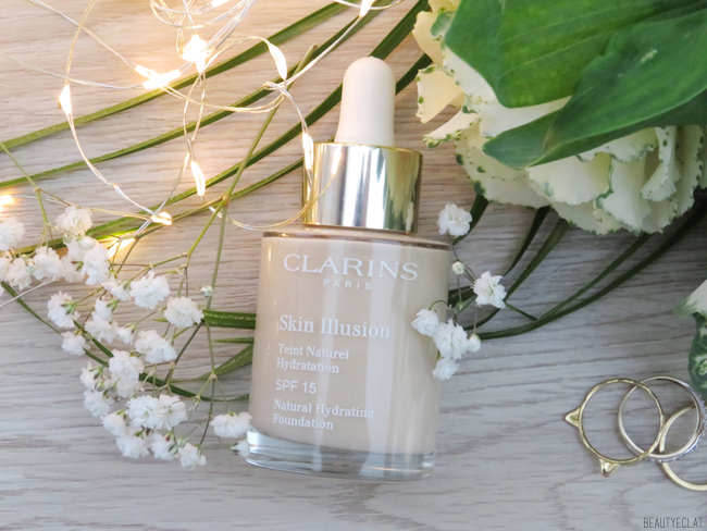 composition clarins skin illusion