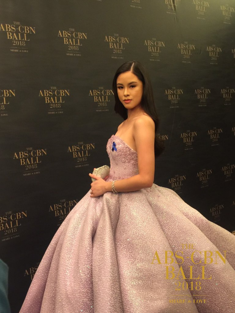 Kisses Delavin ABS-CBN Ball 2018