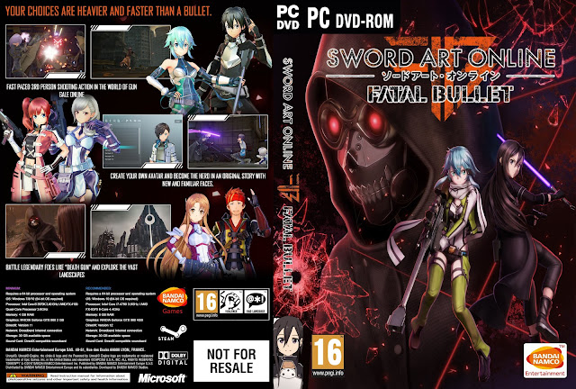Sword Art Online: Fatal Bullet PC Cover