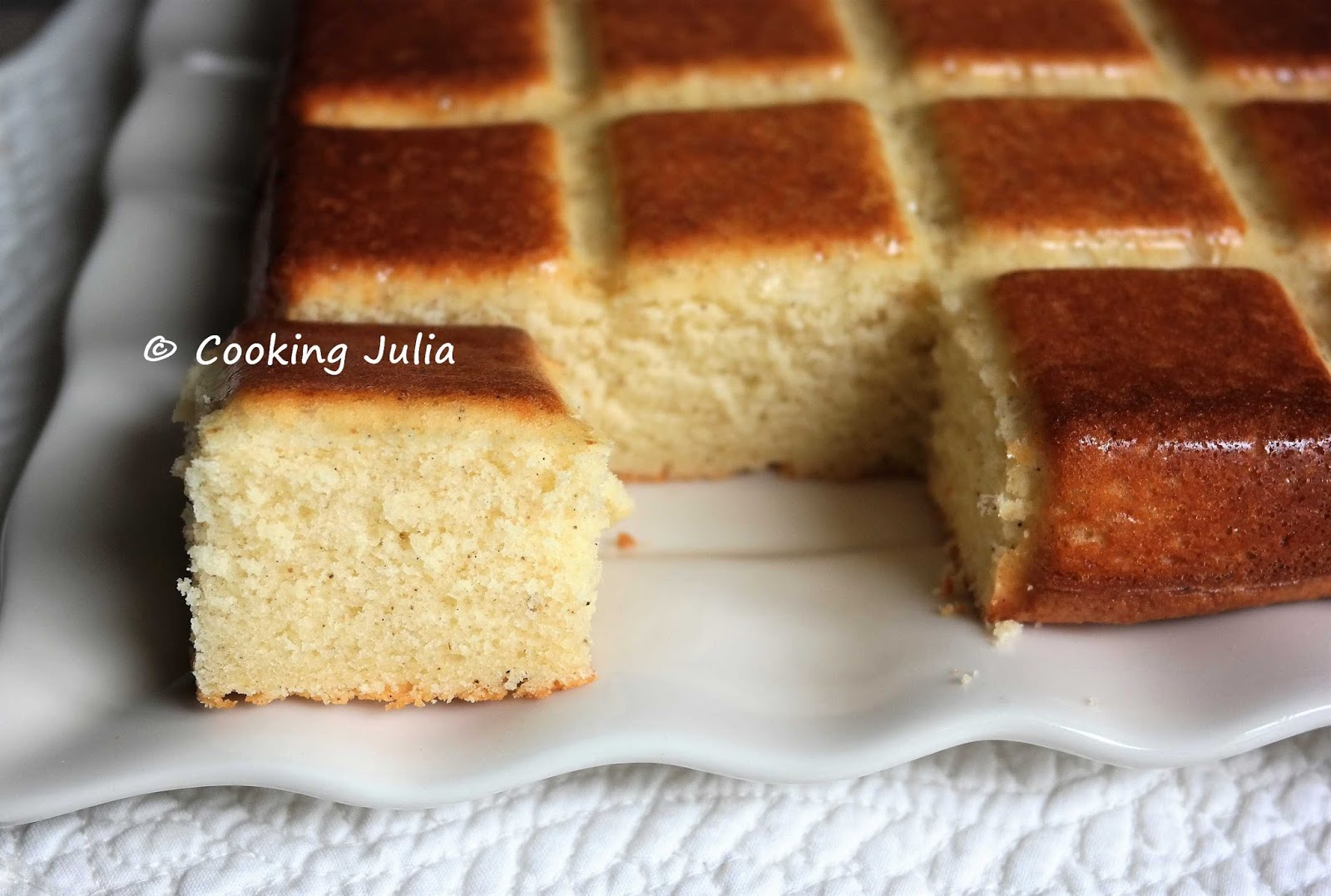 Cooking Julia Gateau Rapide Au Lait Ribot