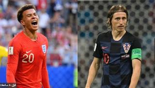 تأهل تاريخى لكرواتيا على حساب إنجلترا نصف نهائى كأس العالم Croatia vs  England