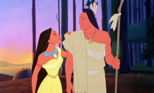 Chief Powhatan Pocahontas Pocahontas 1995 animatedfilmreviews.filminspector.com