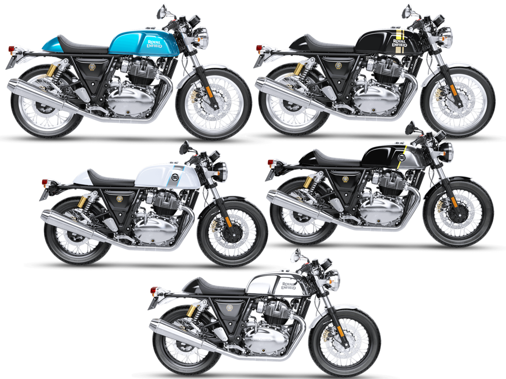 Royal Enfield Continental Gt 650 Launch With Effective Five Colors
