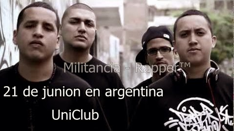 rapper school segunda vez en argentina .