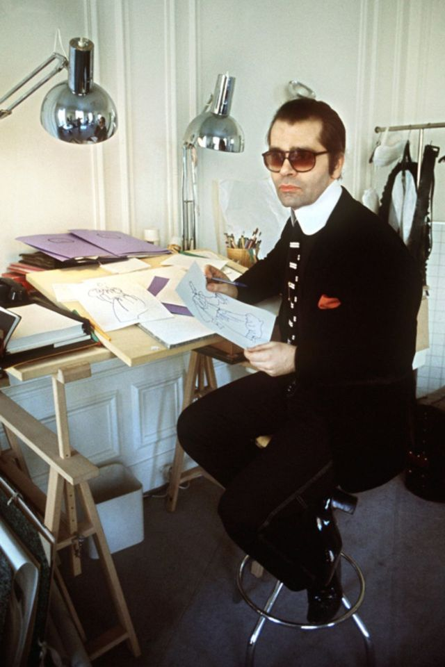 30 Best Vintage Photos of a Young and Handsome Karl