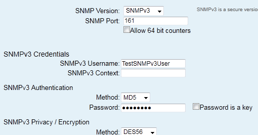 Trooper Thorn's IT documents: Configuring SNMPv3 for Cisco