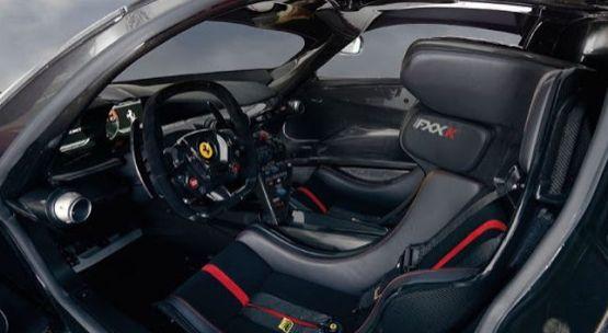 The luxury Ferrari FXX-K Evo Hypercar is super stylish