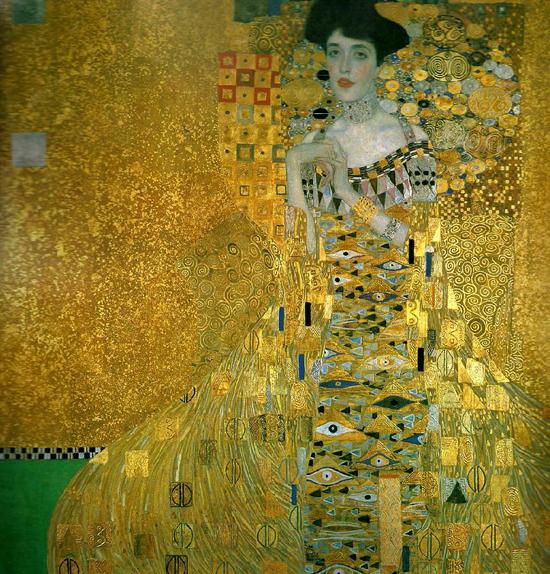 Ill Seen Ill Said Klimt Style