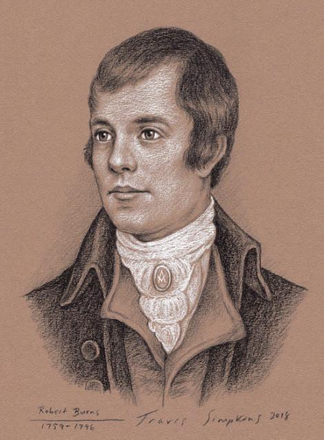 Robert Burns. Poet and Freemason. Grand Lodge of Scotland. by Travis Simpkins