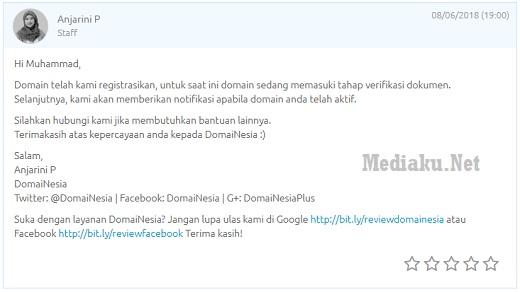 Syarat Domain Web.Id