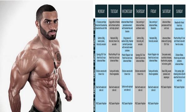 Günstige Muskelmasse Diät