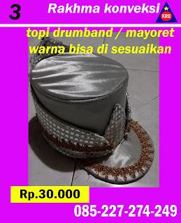 topi drumband mayoret