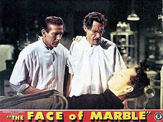 Lobbycard - The Face of Marble (1946)