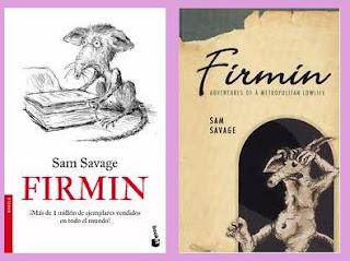 portadas del libro Firmin de Sam Savage