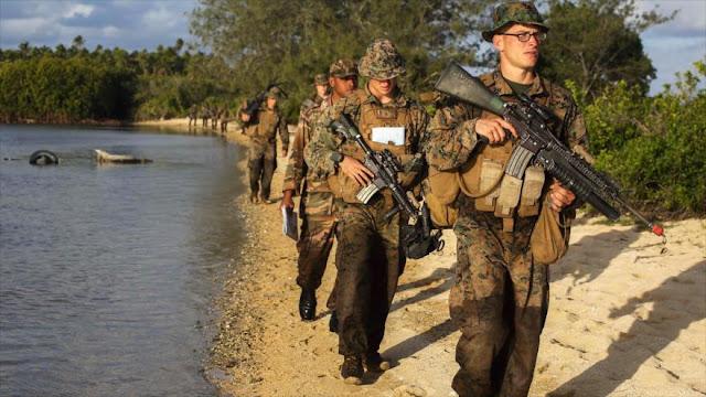 EEUU envía marines a Oriente Medio para proteger sus embajadas