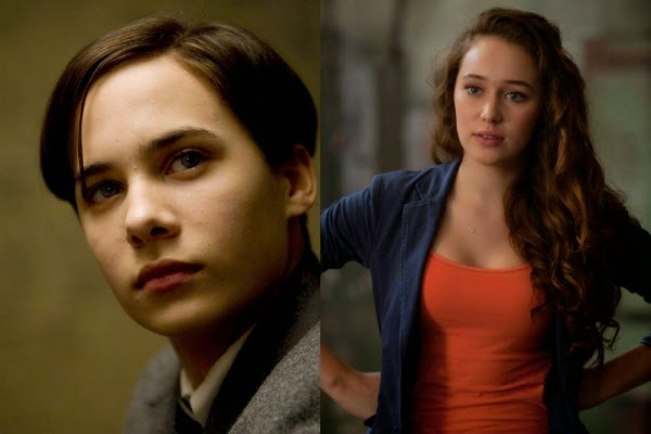 Frank Dillane y Aussie Debnam Carey fichan por The Walking Dead