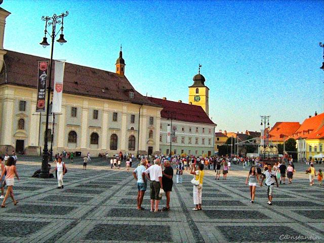 Sibiu - Piața Mare - blog FOTO-IDEEA