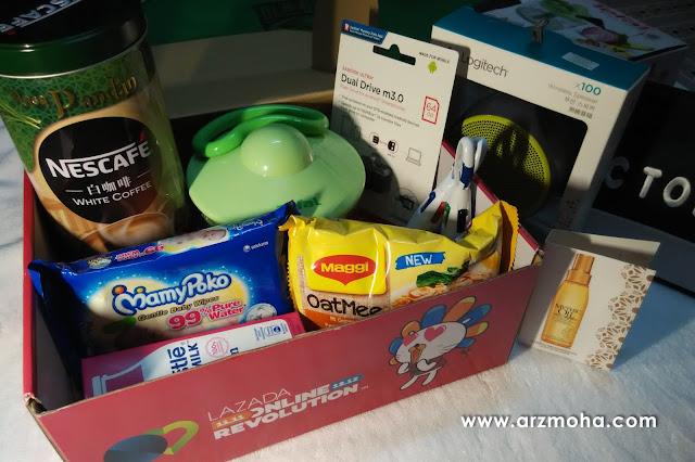 lazada online revolution 2016, OR 2016, lazada box of joy, selamatkah shopping online di lazada,
