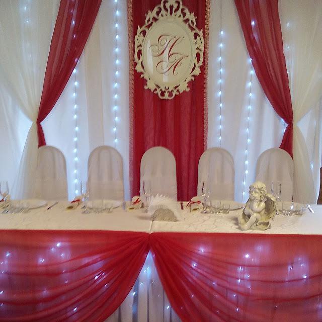 Пример оформления свадьбы
