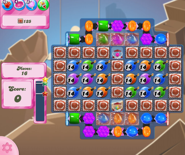 Candy Crush Saga level 2625
