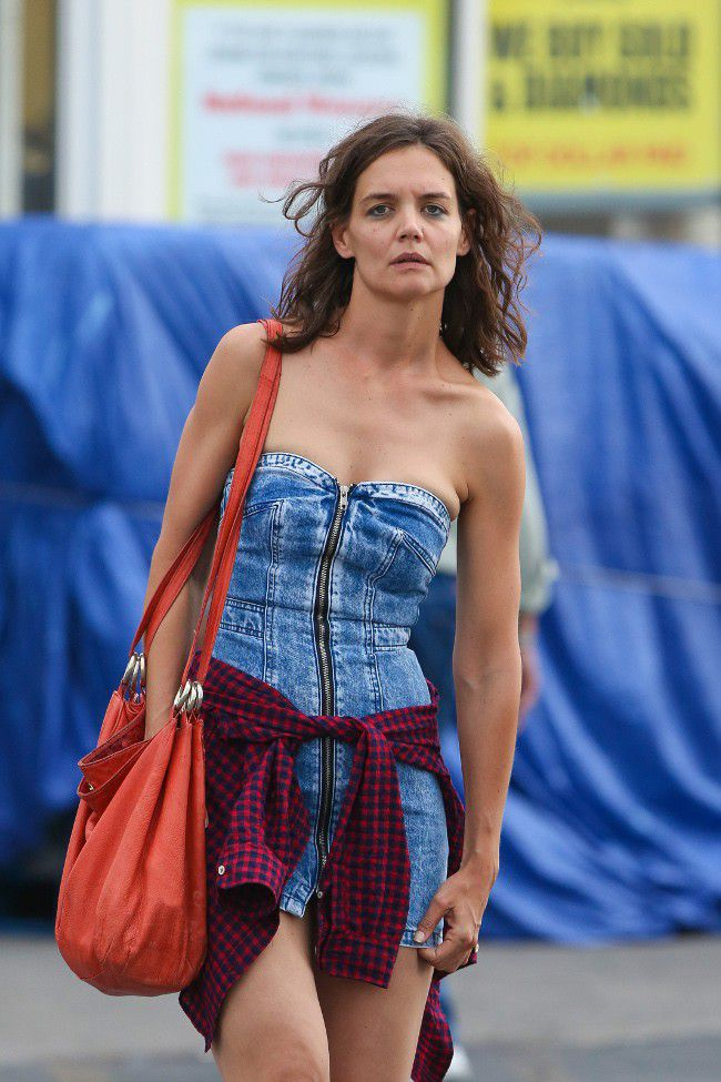 Katie Holmes indeed started the filming of her new movie