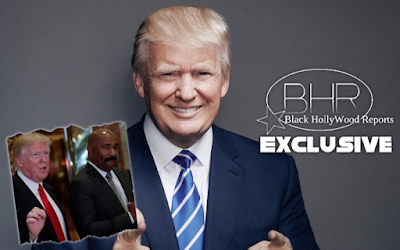 Comedian/TV Host Steve Harvey Meets Up With President Elect Donald trump !