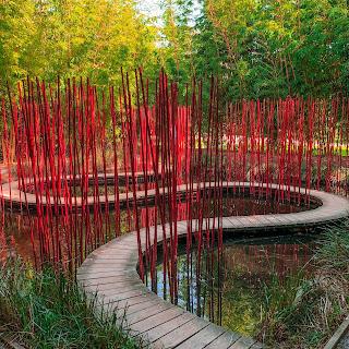 The New Blacck - Orléans - Blog - Chaumont sur Loire - Visite des jardins - serpent eau