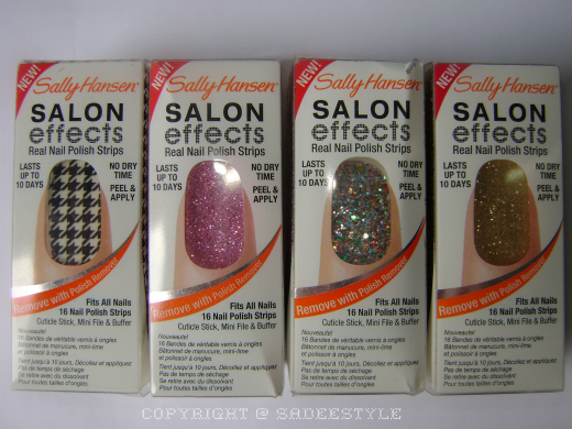 Sally Hansen Salon Effects Real Nail Polish Strips Review
