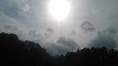 +Gambar foto mega sore hari di langit yang indah