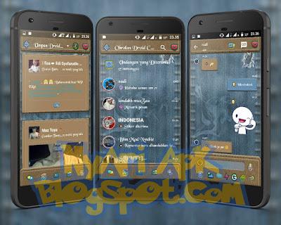 Download BBM Mod Clone Droid Chat Blue Jeans Versi 3.1.0.13 Apk