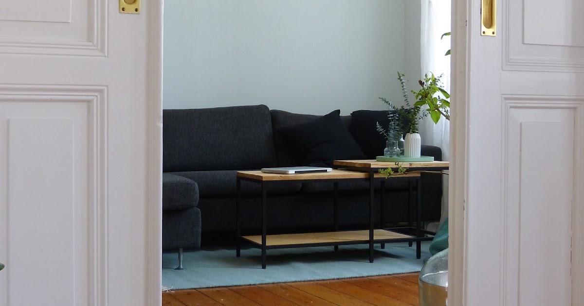 ikea hack satztische im altholz look mintundmeer. Black Bedroom Furniture Sets. Home Design Ideas