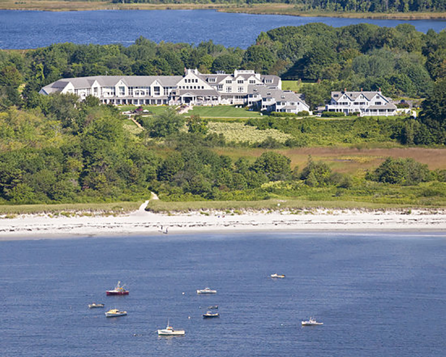Inn by the Sea, Cape Elizabeth Maine, site of the Anny Blatt Knitter's Retreat Oct 26-29, 2018