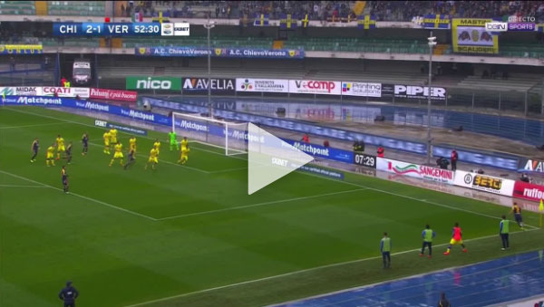 Video Chievo 3 -2 Verona Serie A Vòng 9
