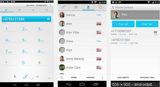 التطبيق Free Calls & Text Messenger