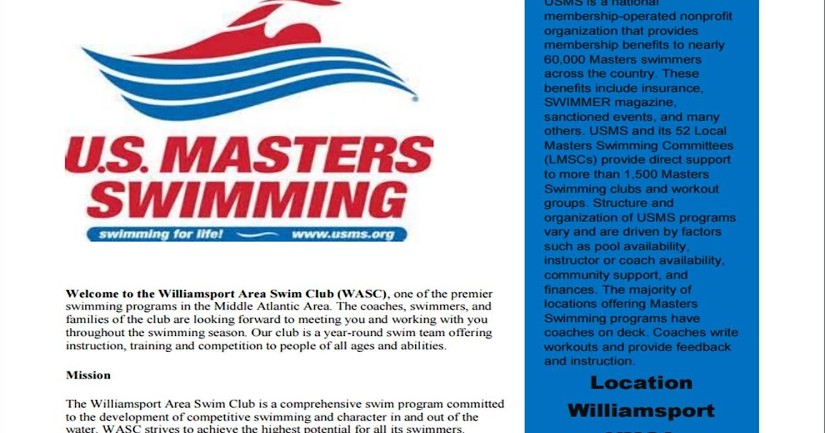 phoenixville ymca masters swim meet results