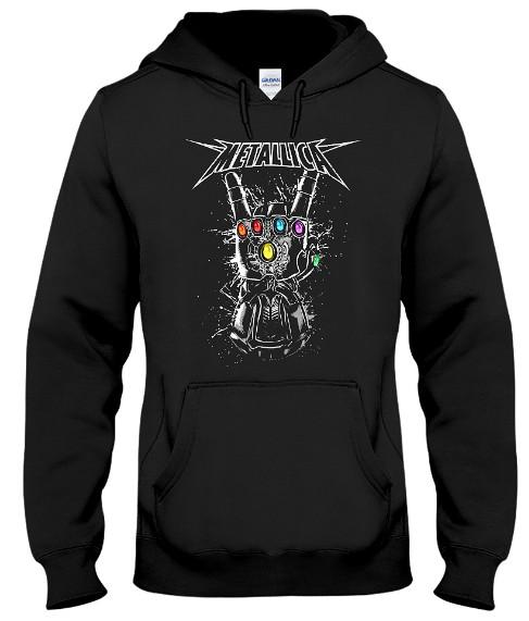 Metallica Infinity Gauntlet Hoodie, Metallica Infinity Gauntlet Sweatshirt, Metallica Infinity Gauntlet T Shirts