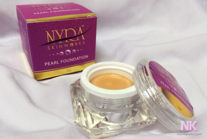 nyra skinworks: pearl foundation 3