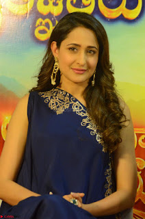 Pragya Jaiswal in beautiful Blue Gown Spicy Latest Pics February 2017 129.JPG