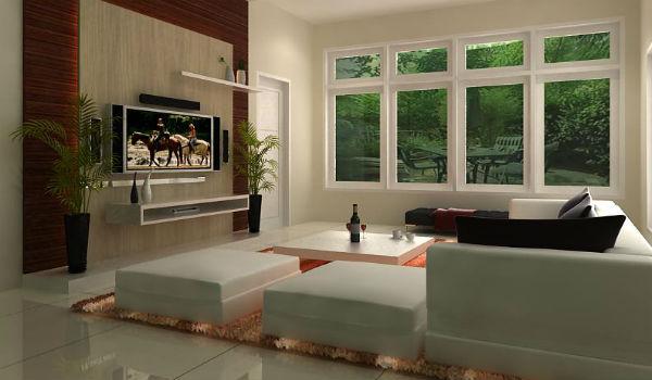 Untuk Desain Ruang Tamu Apartemen Yang Membuat Anda Nyaman Bisa Menambahkan Aksesoris Rangkaian Bunga Hias Maupun Hidup Tidak