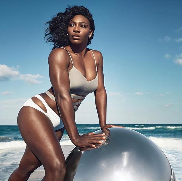 "Serena Williams covers Self Magazine with ""strong, sexy"" bod"