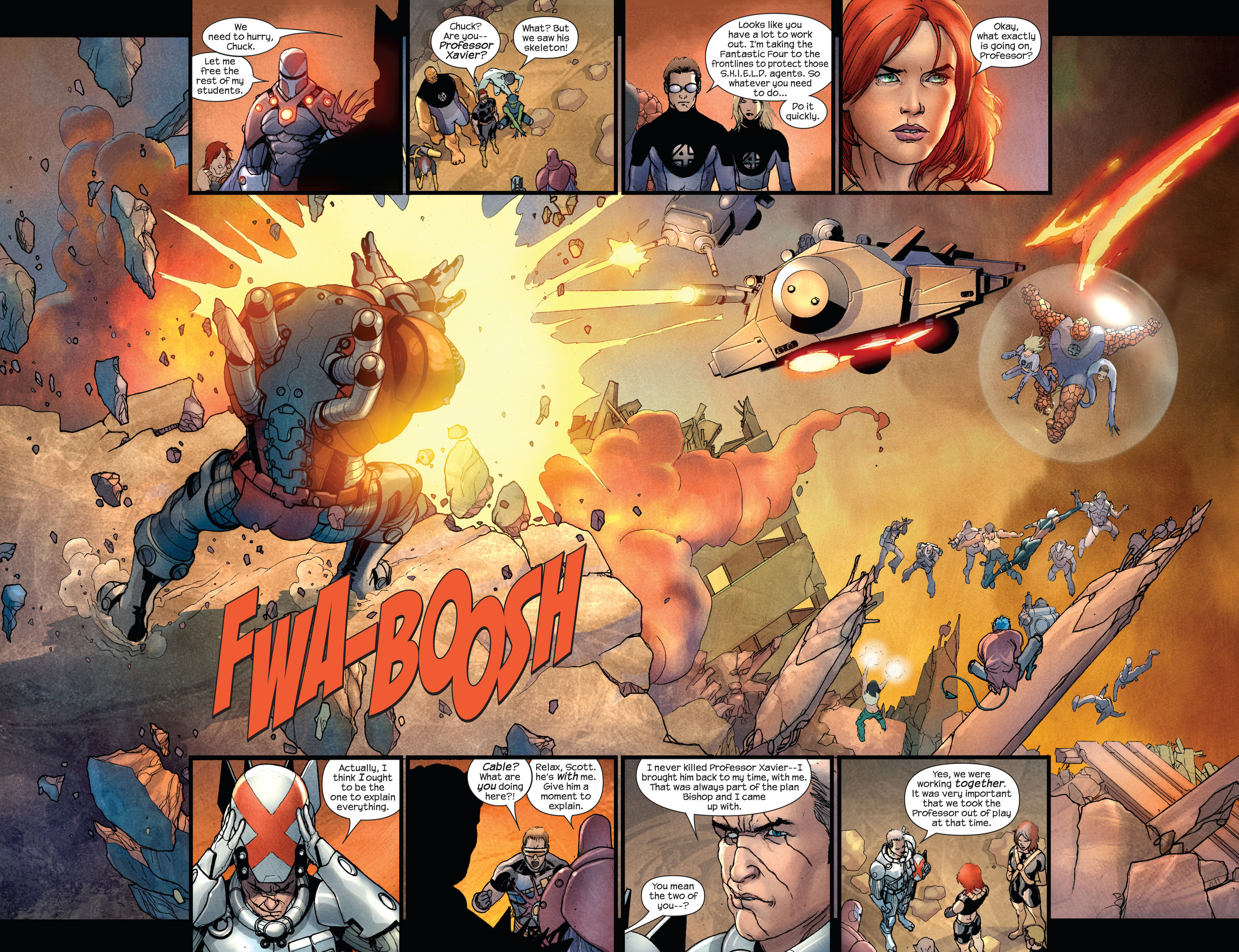 Read online Ultimate X-Men comic -  Issue #92 - 4