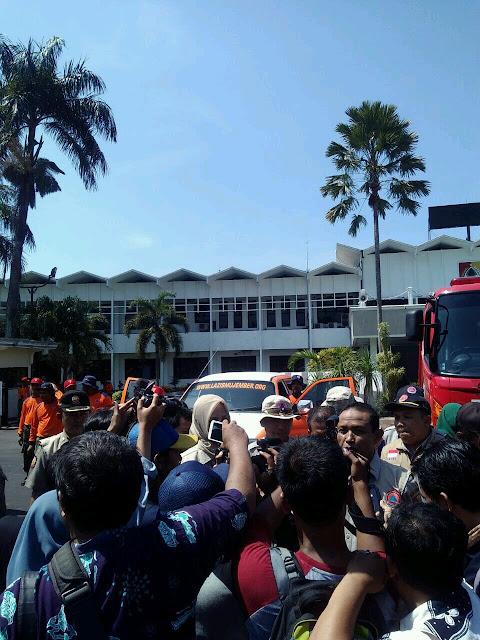 Apel Siaga Bencana Team Lazismu & KOKAM Jember bersama Bupati dan FORPIMDA Jember4