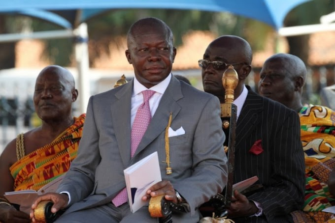 Africans don't vote on issues – Otumfuo