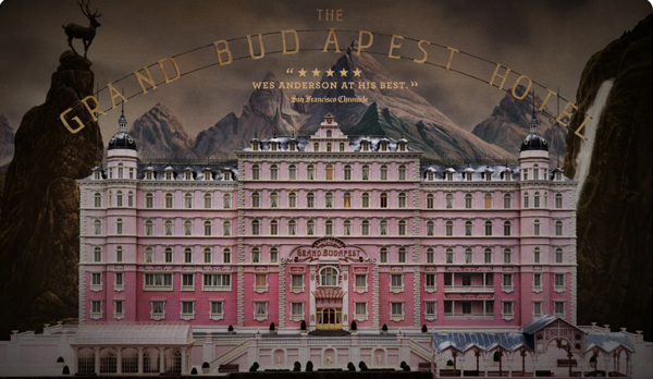 The Grand Budapest Hotel - top movies for mobile