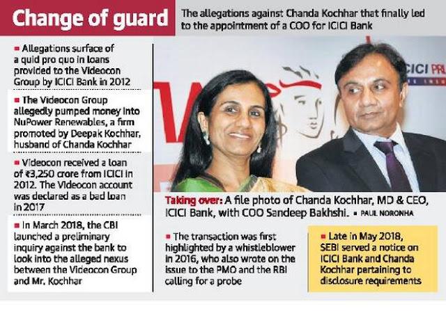 Chanda Kochhar to go on leave till probe gets over
