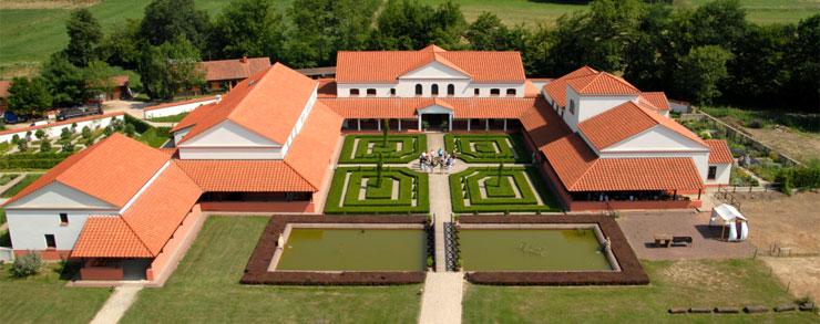 Comparaci n entre la villa romana de el vilarenc en for Villas romanas