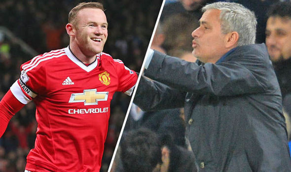 Wayne Rooney (left) could reportedly leave Man Utd if Jose Mourinho doesn't want him