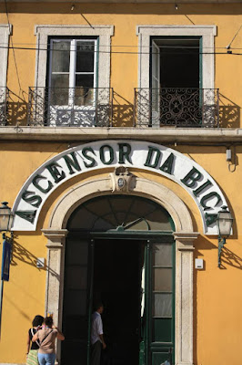 Elevador da Bica in Lisboa