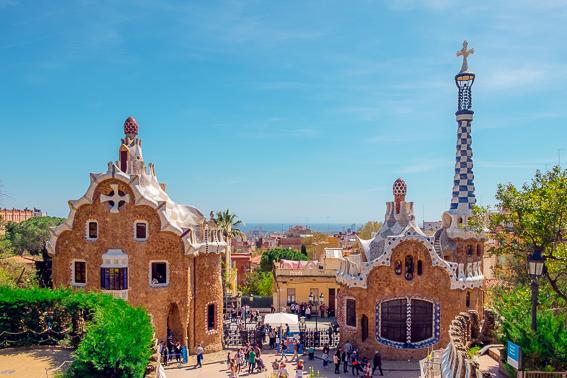 Parque_Guell_Barcelona. Gaudi España